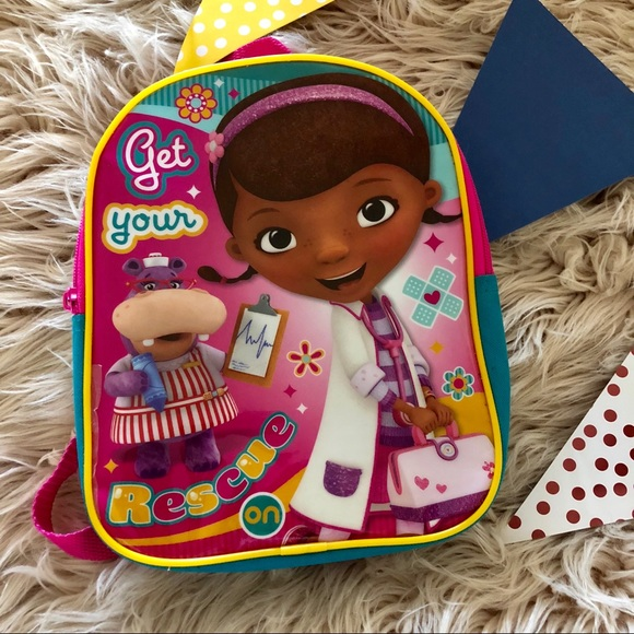 Disney Accessories   Doc Mcstuffins Backpack   Poshmark 0076958fac1